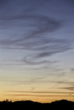 Wispy Clouds at Sunset