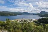 Overlook over Bonne Bay on the East Arm of the UNESCO World Heritage Sight