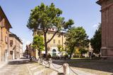 Street Scene in the City of Ferrara  UNESCO World Heritage Site  Emilia-Romagna  Italy  Europe