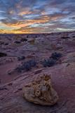 Sunrise over Sandstone Formations