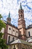 Cathedral of Wurzburg  Wurzburg  Franconia  Bavaria  Germany  Europe