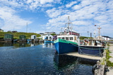 Fishing Boats in the Harbour of Port Au Choix  Newfoundland  Canada  North America