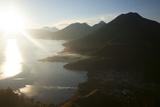 Lago Atitlan  Guatemala  Central America