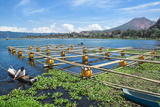 Lake Batur  Fishermen  Bali  Indonesia  Southeast Asia  Asia