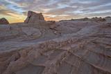 Sandstone Fins at Sunrise