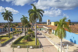 Plaza Mayor  Trinidadsancti Spiritus Province  Cuba  West Indies  Caribbean