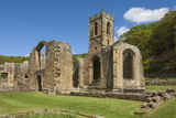 Church Ruin of the 14th Century Mount Grace Carthusian Priory  North Yorkshire  Yorkshire  England
