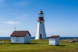 Pointe Riche Lighthouse  Port Au Choix  Newfoundland  Canada  North America