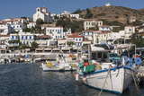 Batsi Harbour  Andros  Cyclades Islands  Greek Islands  Greece  Europe