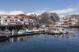 Brygge  Honningsvag  Finnmark  Norway  Scandinavia  Europe