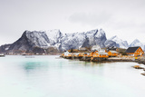 Sakrisoy  Moskenesoy  Lofoten Islands  Norway  Scandinavia  Europe
