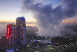 View of Fallsview Casino Resort and the American and Horseshoe Falls