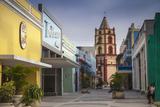 Pedestrian Street Leading to Iglesia De Nuestra Senora De La Soledad