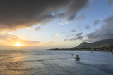 Basseterre at Sunset  St Kitts  St Kitts and Nevis  West Indies  Caribbean  Central America