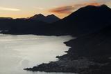 Landscape  San Pedro  Lago Atitlan  Guatemala  Central America