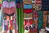 Local Handicrafts  San Pedro La Laguna  Lago Atitlan  Guatemala  Central America
