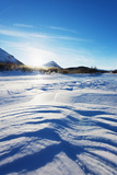 Frozen Lake  Abisko National Park  Helsinki  Finland  Scandinavia  Europe