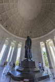 Inside the Rotunda at the Jefferson Memorial