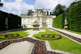 Palace of Linderhof  Royal Villa of King Ludwig the Second  Bavaria  Germany  Europe