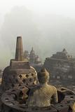 Borobodur  UNESCO World Heritage Site  Kedu Plain  Java  Indonesia  Southeast Asia  Asia