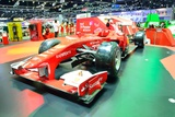 Nonthaburi - December 1: Ferrari Formula 1 Car Display at Thailand International Motor Expo on Dece
