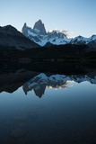 Last Light on the Fitz Roy Mountain Range