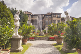 The Gardens of Palazzo Pfanner in Lucca Which Date Back to the 17th Century