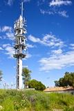Multi Media Aerials  Sete  Herault  Languedoc-Roussillon Region  France  Europe