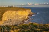 Nash Point Lighthouse  Vale of Glamorgan  Wales  United Kingdom  Europe