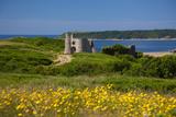 Pennard Castle  Overlooking Three Cliffs Bay  Gower  Wales  United Kingdom  Europe