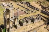 Roman Theatre  Volterra  Tuscany  Italy  Europe