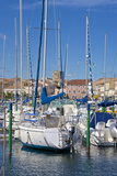 Boats in Marina  Meze  Herault  Languedoc Roussillon Region  France  Europe