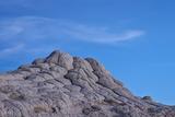 White Sandstone Eroded Like a Brain