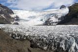 Svinafellsjokull Glacier  Skaftafell  Iceland  Polar Regions