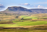 Pen Y Ghent from Above Langcliffe Near Settle  Yorkshire  England  United Kingdom  Europe