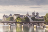 The Pont Des Arts with Ile De La Cite in the Background  Paris  France  Europe
