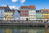 Nyhavn  17th Century Waterfront  Copenhagen  Denmark  Scandinavia  Europe