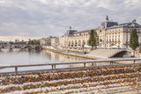 Musee D'Orsay on the River Seine  Paris  France  Europe