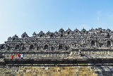 Borobodur  Kedu Plain  Java  Indonesia  Asia