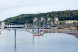 Conwy Castle  UNESCO World Heritage Site  and Harbour  Conwy  Wales  United Kingdom  Europe