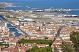 Port and Town  Sete  Herault  Languedoc-Roussillon Region  France  Europe