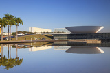 National Congress  UNESCO World Heritage Site  Brasilia  Federal District  Brazil  South America