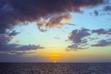 Sugar Beach Sunset  Bantayan Island  Cebu  the Visayas  Philippines  Southeast Asia  Asia