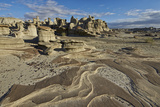 Rock Layers in the Badlands  Bisti Wilderness  New Mexico  United States of America  North America