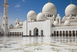 Sheikh Zayed Grand Mosque  Abu Dhabi  United Arab Emirates  Middle East