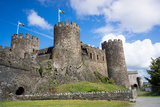 Conwy Castle  UNESCO World Heritage Site  Wales  United Kingdom  Europe