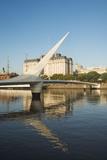 Puente De La Mujer (Bridge of the Woman)  Puerto Madero  Buenos Aires  Argentina  South America