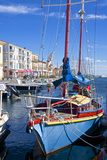 Boats in Harbor  Meze  Herault  Languedoc Roussillon Region  France  Europe