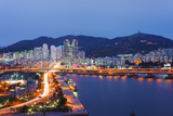 City Skyline  Busan  South Korea  Asia