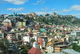 View over a Hillside  Antananarivo  Madagascar  Africa